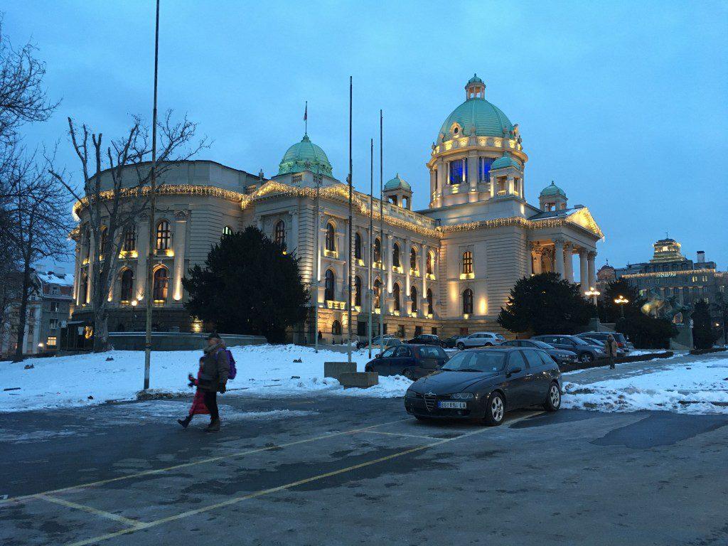 Servisch parlement