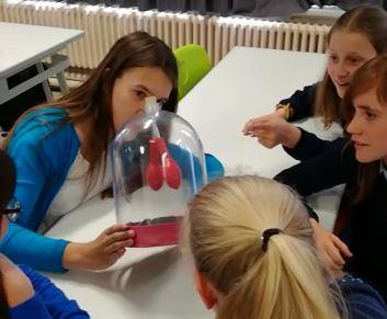 Mannequin challenge in ons nieuw wetenschaps-/STEM-lokaal