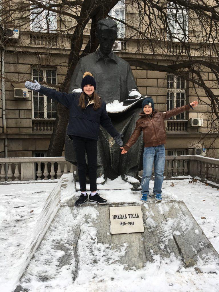 Standbeeld Nicola Tesla