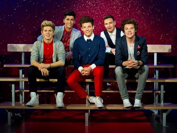 Boysband in Madame Tussauds