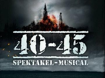 Poster spektakel-musical 40-45