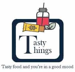 Logo van Tasty Things - Tasty food and you're in a good mood